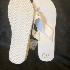 543e97559c4516 OP Shoes - Op ocean pacific flip flops white